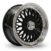 15 Black Bsx Alloy Wheels Fits Volkswagen Caddy Derby Polo Lupo Golf 4x100