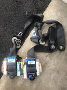 Acura-rsx Front Seat Belts-2002-2003-2004-2005-2006-black Color