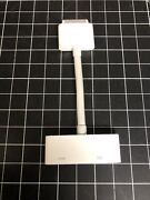 Genuine Apple A1388 30-pin To Hdmi A/v Dongle Adapter Ipad Ipod Iphone