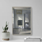 Vilhelm Hammershoi - Interior With An Easel 1912 Poster Art Print Painting