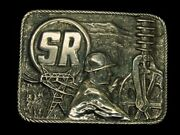 Td09129 Vintage 1970s Sherman And Reilly, Inc.energy Belt Buckle