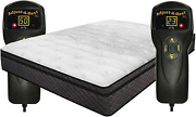 Innomax Luxury Support Harmony Dual Digital Pillow Top Air Bed Mattress Califor