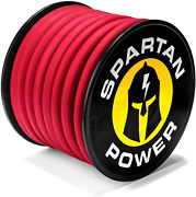 Spartan Power 2 Awg 1000 Foot Red Welding Lead Car Battery Cable Copper Wire B