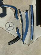 Mercedes Benz 190 Sl/ 300 Sl Bumpers And Grill Pieces