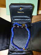 Wow Angela Cummings And Co. Lapis 18k Gold Lentil Necklace Christmas