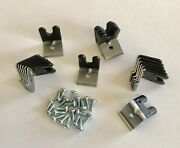 New Boss 429 Mustang Spark Plug Wire Clips 3 Sets 21 W/ Screws Dealer Special