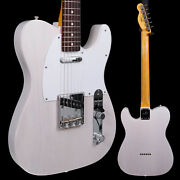 Fender Jimmy Page Mirror Telecaster, Rw Fb, White Blonde Lacquer 104 7lbs 11.7oz