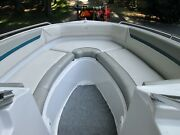 1993 Four Winns Horizon 230 Upholstered Boat Seating Side Panels And Sunpad Cover