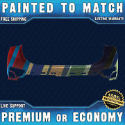 New Painted To Match - Rear Upper Bumper For 2019 2020 Hyundai Santa Fe 19 20