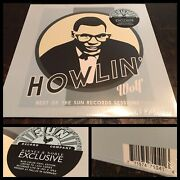 Howlin' Wolf Best Sun Records Sessions Lp Mono Blue Vinyl Sealed Barnes And Noble