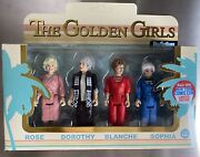 Nycc Funko Golden Girls Reaction Action Figures Unpunched Mint