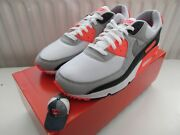 Nike Air Max 90 Og Infrared Us 12.5/uk 11.5 Concord/atmos/dave White/neon/duck