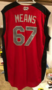 John Means 2019 Mlb Orioles All-star Game Workout Day Issued Autographed Jersey
