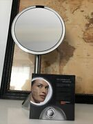 Simplehuman Used 5x Bt1080 And New St3025 Compact 3x Round Makeup Vanity Mirror