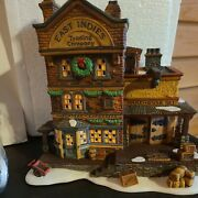 Dept 56 Dickens Village East Indies Trading Co Retired 58302 In Original Box