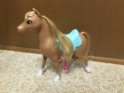 Barbie Doll And Her Sisters In A Pony Tale Stacie Blonde Brown Horse