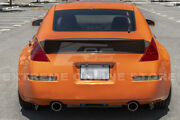 Bunny Style Abs Plastic Ducktail Rear Trunk Wing Spoiler For 03-08 Nissan 350z