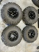 2020 Can Am Maverick Trail Wheels / Tires 27x9x12 And 27x11x12 Take Offs 0 Miles