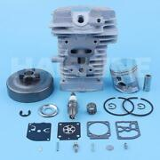 40mm Big Bore Cylinder Piston Clutch Drum Carb Kit For Stihl Ms181 Ms181c Ms171