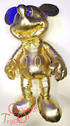 Disney Mickey Mouse Gold Collection Large / Plush/limited/mickey Mouse/new