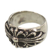Chrome Hearts Silver Keeper Finger Ring Silver Vintage Authentic Qq276 O