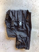Military Surplus Thales Mbitr Radio Carrying Case Pouch Black An/prc-148 Navy