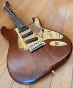 Vintage 1980 Bill Lawrence Bc2e 0130wal Electric Guitar Strat Model Brown