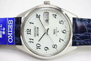Seiko Actus 6306-7010 Vintage Day Date Ss Automatic Mens Watch Authentic Working