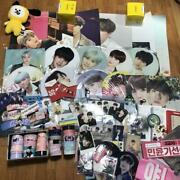 Bts Yungi Set Fan Flag Poster Mini Photo Cup Holder Official Master Rare