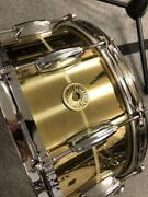 Used Gretsch Snare Drum S1-6514bb-br Bell Brass From Usa Rare O