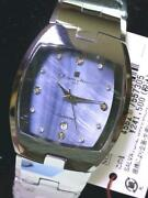 Salvatore Marra Blue Shell And Tonneau Type Watch Model For Magazinen Used
