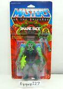 Motu Snake Face Masters Of The Universe Moc Carded Figure He Man Sealed