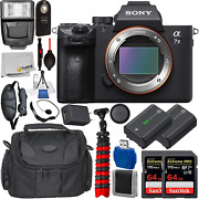 Sony Alpha A7 Iii Mirrorless Digital Camera Body Only With Deluxe Accessory Bu