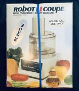 Rare Vintage New Robot Coupe Rc 2100 Food Processor Sealed Box Made In France