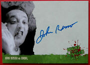 Night Of The Living Dead - John A Russo Personally Signed Autograph Card 2012