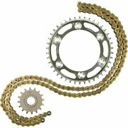 Gold/black Sz 18 Tooth/43 Tooth/118 Links Jt Sprockets 530z1r Chain And Sprocket