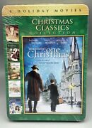 Christmas Classics Collection Dvd, 2013, 2-disc Set, Tin Case 6 Holiday Movies