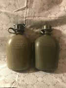 Vintage 1983 And 1993 Usa Canteens
