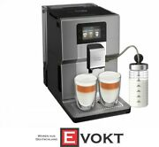 Krups Ea 875 E Intuition Preference + Coffee Machine With Touchscreen Silver New