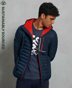 Superdry Mens Convection Hybrid Hooded Jacket