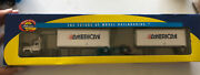 Athearn 93146 Mack R Truck With Two 28' Trailers American