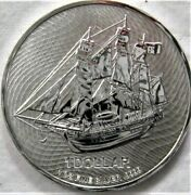 2021 1 Oz Cook Island Bounty Silver Coin .9999