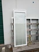 """Odl 22""""x64"""" Insulated Glass Inserts With Blinds And Muttons 400 A Pc."""