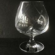 Mikasa Brandy Glass Olympus Lead Crystal Made In Slovenia New Never Used