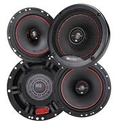 4x Mb Quart Rk1-116 400 Watts 6.5 Reference 2-way Coaxial Car Audio Speakers