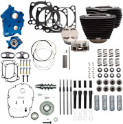 S And S Cycle Black Oil Cooled 124 Power Packages For M-eight 310-1059a