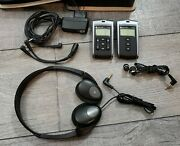 Comfort Audio Contego Transmitter/receiver Hearing Aid System W/ Case
