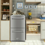 Thor Stainless Steel Refrigerator Small Freezer Cooler Home 5.3 Cu Ft. Unit Home