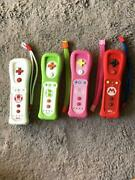 All Worked Lot Of 4 Nintendo Wii Remote Motion Plus Controllers
