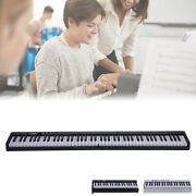 88 Key Foldable Keyboard Piano Electronic Wireless Connection For Adults/kids